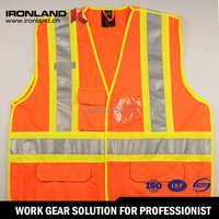 For Promotion Waterproof safety vests for women