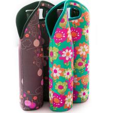Sublimation 2 Pack Neoprene Wine Bottle Cooler carrier