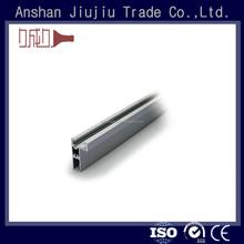 Modern fácil montagem 6063 liga de alumínio rail para a porta de slides e janelas
