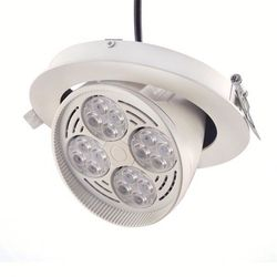 Commercial Lighting 360 degree rotate led downlight lens 5 years warranty
