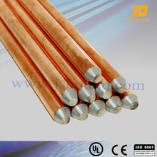 copper bonded steel grounding rod 14.2mm,17.2mm
