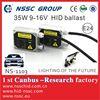 Hot sale HID Ballast xenon power ballast and bulbs 12v 35w h1 h3 h4 h7 9005 9006 with E-MAR, CE & ROHS for golf6