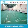 8.0mm BWF approved pvc sports flooring for badminton