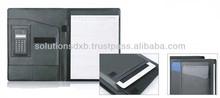 PU leather folder for iPad with calculator