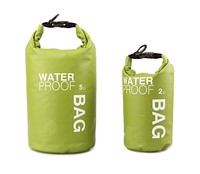 Hot Ultralight 5L/40L Waterproof Bag Swimming Sack Rafting PVC Dry Bags for Sport Water Proofing With Roll Top Shoulder Straps