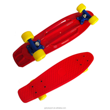 2206B-2VC5036 22x6inch 4 PVC wheel plastic skateboard with PP deck