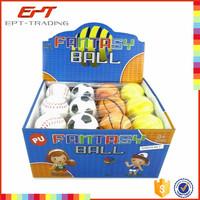 Basketball pu toy tennis ball pu toy baseball pu toy anti stress ball