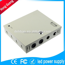 12 volt portable transformer power supply with single output 60w 5a