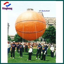 NB-BL2052 Ningbang cheap Giant PVC inflatable basketball for outdoor parade