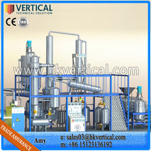 VTS-DP PLC Control Waste Motor Oil Recycling Used Black Oil Recycle