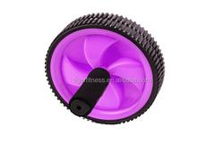 purple gym ab wheel roller