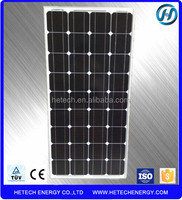 Monocrystalline 100w solar panel price per watt from China suppliers