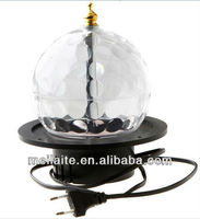 Mini led crystal magic ball ,nightclub equipment