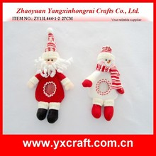2012 novelty christmas toys christmas felt candy bag with knitted scarf