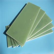White epoxy resin and fiberglass composite board