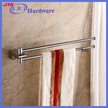 The latest design active double towel hanging rod