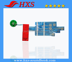 Professional Manufacturer Sound Module With Push Button Sound Module For Children Sound Book