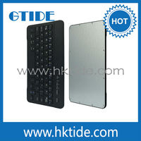 Bluetooth 3.0 keyboard for ipad mini with leather case