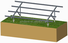 aluminium solar pv support, engineered ground solar mounting system CG3