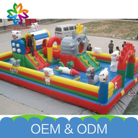 High Quality Amusing Commercial Used Kids Funny Free Customize Inflatable Castle Slide