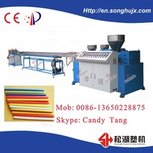 pp pe three-color drink straw production machine