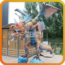 Dragon Model Exhibits Outdoor Dragon Statues