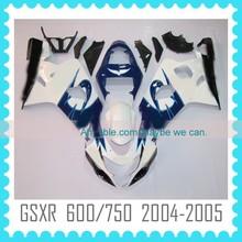 ABS motorcycle Fairing for SUZUKI GSXR600 GSXR750 2004 2005 K4 fairing kit