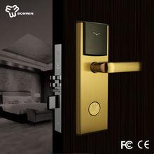 Changzhou bonwin hot sale hotel key card door lock with software and encoder