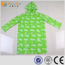 SUNNYHOPE pattern Adult PVC raincoat