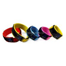 Medical ID Identity Wrist band Velcro Bracelet