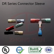 REACH RoHS UL Free Sample Soft PVC Terminal Straight Sleeve