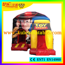 2015 Guangzhou Kule inflatable bouncer inflatable bouncy castle cartoon jumping castles for children game