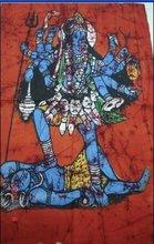 25 India Hindu Gods Batik Paintings Wholesale Lot