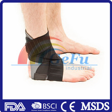 Customized elasticated ankle support