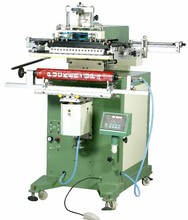China Long Tube cylinder silk screen printing machine for pvc pipe fish pole, golf clubs, cue, Golfball Rod, Fishing Rod,