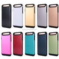 High quality hybird armor matte rugged cover for iphone 6 tough hard armor case wholesale alibaba