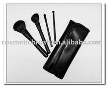 4 pcs makeup brush feather hair extension