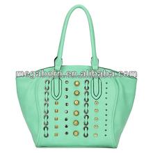 2014 Studded Double Strap Detail Fashion Designer Bag