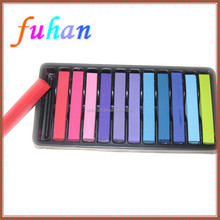high quality drawing chalk, pastel chalk, temporary color hair chalk