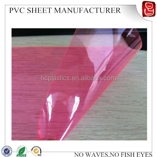 Soft Clear Pvc Plastic Film /color Pvc Flexible Plastic Sheet ...