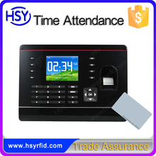 HSY-308 Free Software time recorder punch card machine