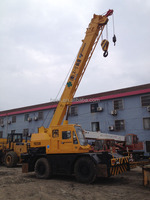25ton Good condition Tadano TR250M-5 rough terrain crane with hydraulic telescopic boom for sale in Shanghai,China