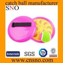 3D material EN71 parent-child wholesale catch ball velcro ball