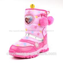 de invierno 2014 niñas poco congelado de nieve botas de la serie