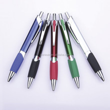 luxurious advertising brand pen in metallic barrel