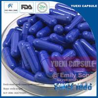 Halal empty gelatin capsule shell size 00 quick dissolving empty capsule