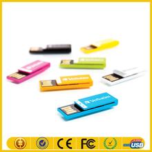 Giveaways Colorful mini bulk 64gb usb 2.0 flash drive , usb 2.0 driver with logo