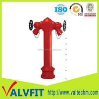 BS750 DN100 underground fire hydrant