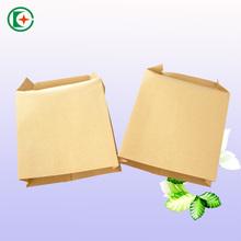Small heat seal kraft brown paper tea coffee food storage bags