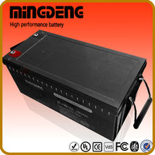 for solar 200a 12v deep cycle rechargeable flooded lead acid battery